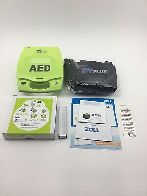 ZOLL AED PLUS with Pads, New Case and Batteries - $1,388 00