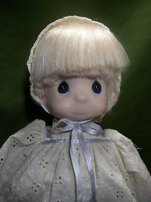 "Precious Moments Baby Doll ~❤️~ Vintage ""Happiness Is The Lord"" By Sam Butch 15"""