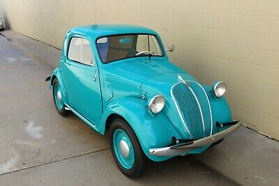 1936 Fiat 500  1936 FIAT 500 Topolino - 10-Miles on Restoration, Same Owner for 40+ Years Simca