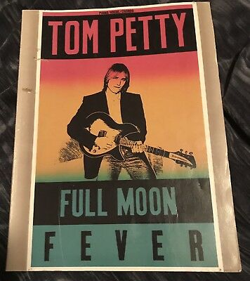 Tom Petty 'Full Moon Fever' -  Chord, Piano, Guitar, Lyric BOOK (1989 printing)