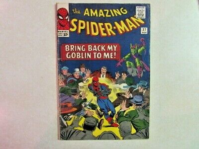 Amazing Spider-Man # 27 - Silver Age Marvel Comic - 1960s - Green Goblin