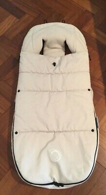 Bugaboo Footmuff - GREAT CONDITION Off White - RRP $189