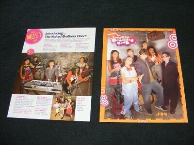 THE NAKED BROTHERS BAND magazine clippings