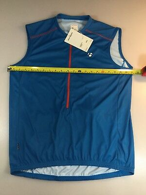 Bontrager Solstice Mens Sleeveless Cycling Jersey Size Medium M (6550-14) 22b6bdb68