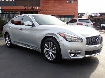 2017 Infiniti Q70 3.7 2017 INFINITI Q70 Salvage Damaged Vehicle! Priced To Sell Wont Last! Must See!!!