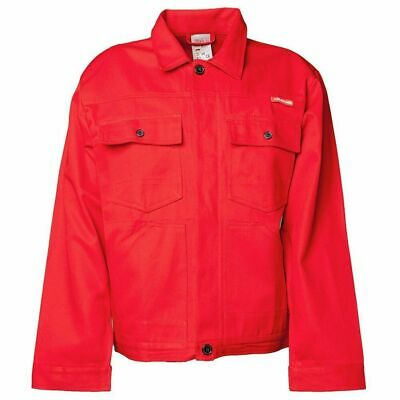PLANAM Red BW290 Mens waisted work jacket Coat L XL XXL  NEW