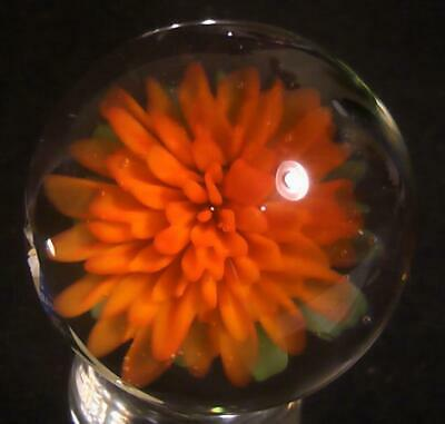 """RPC Marbles! 1.48"""" Hand Made Glass Marble - Art Glass Marble """"Sun Kissed"""""""