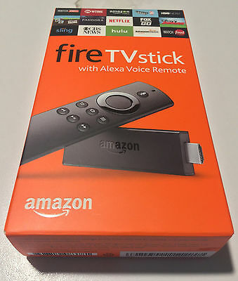 Amazon Fire Tv Stick With Alexa Voice Remote - 2Nd Gen (Brand New In Sealed Box)
