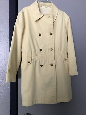 Children's Vintage Pale Yellow Peacoat Coat Jacket Northlanders Duluth Minnes