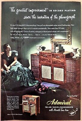 Various Console Radio Phonograph Admiral Grebe Philco Stromberg-Carlson Gowns
