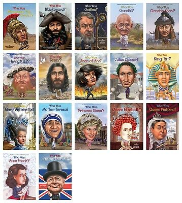 NEW People From Around the World Who Was Set of 17 Paperback Victoria Pack Lot