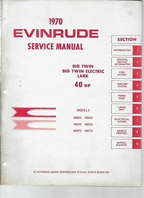 johnson evinrude outboard 1 5hp 40hp full service repair manual 1956 1970