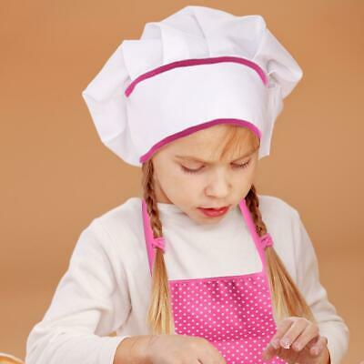 11pcs Kids Cooking And Baking Set Kitchen Costume Role Play Kits Apron Hat Pink