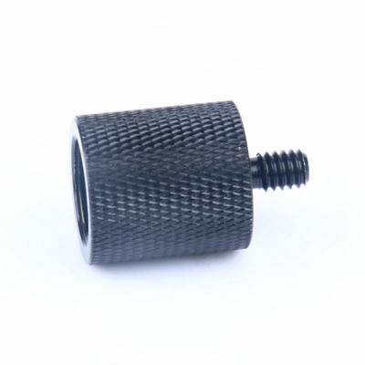 """Standard 5/8""""-27 Female To 1/4""""-20 Male Threads Mic Stand Adapter For Microphone"""