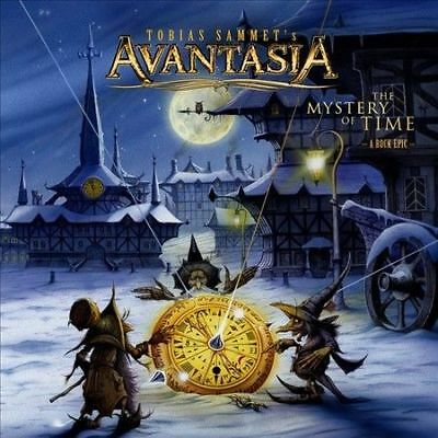 The  Mystery of Time: A Rock Epic AVANTASIA CD