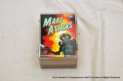 1994 MARS ATTACKS Factory Complete Set!  Mint Condition! SALE PRICE!  WOW!