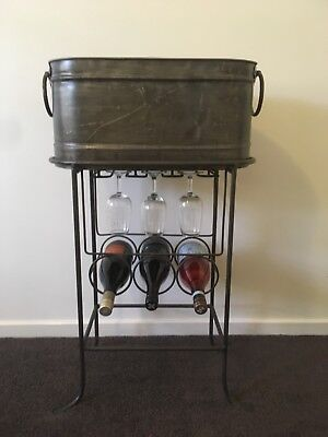 Wine rack and ice tub