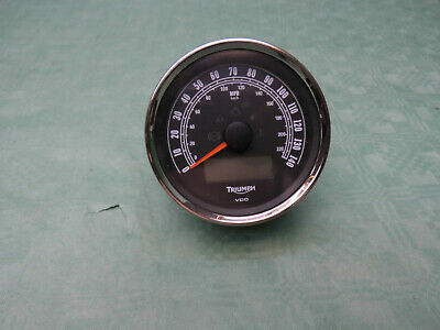 TRIUMPH TACHO SPEEDO GAUGE (int.*) CLOCK ROCKET ROADSTER T2503034 mls