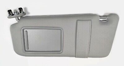 New Left Driver Side Sun Visor Gray for 2007-2011 Toyota Camry WITHOUT  SUNROOF 23ecf1bb294