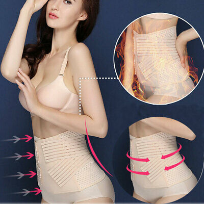 Adjustable Postpartum Recovery Belly Waist Tummy Belt Slimming Body Band Girdle