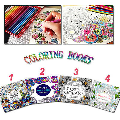 Children Youngs Gifts Graffiti Adult Books New Fantasy Coloring Book English