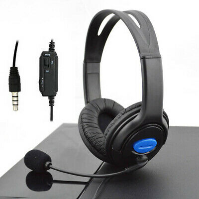 Stereo Wired Gaming Headsets Headphones with Mic for PS4 Sony PlayStation 4 /PC