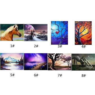 40*30cm 5D Full Drill Diamond Painting Embroidery Cross Stitch Kit Decor Crafts
