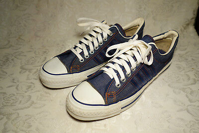 55efb44fafba Vintage 1970 s The Winner by Converse Sneakers Tennis Shoes Size 10 Levi s  Denim