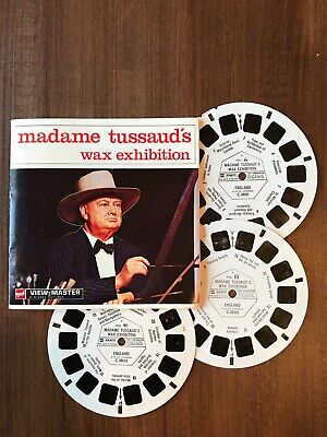 View Master Madame Tussaud's 3 Reels 21 Photos GAF