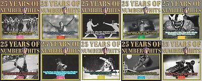 25 Years Of Number 1 Hits Volume 1 -10, 10 CDs, 1970 - 1994, 187 Titel