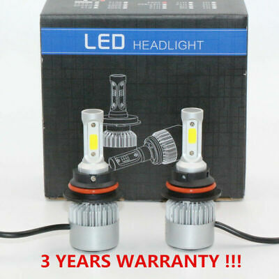 2x Car 9004/HB1 LED Headlight Conversion Kit 72W 8000lm Replacement 6000k Bulbs