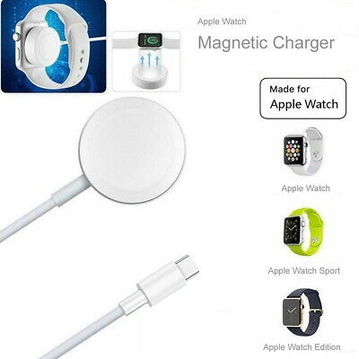 Type C Magnetic Charger Charging Cable For Apple Watch iWatch Series 4 3 2 1