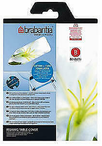 Brabantia Ironing Board Cover 124 x 38cm Silver 317705
