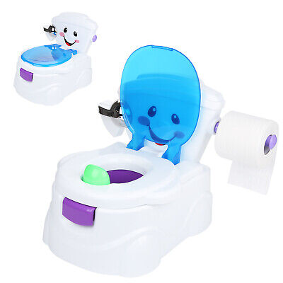 Baby Potty Lerntöpfchen Toilette Music Toilettentrainer Kinder WC Toilettensitz
