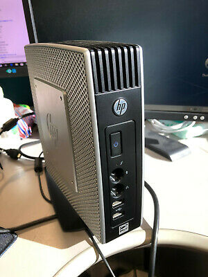 HP T510 THIN CLIENT + PSU + STAND ( 16GB FLASH / 2GB RAM / Windows 7 )
