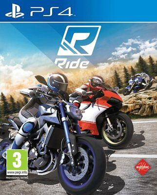 Ride (PS4)  BRAND NEW AND SEALED - IN STOCK - QUICK DISPATCH - FREE UK POSTAGE