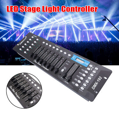 192Channel DMX512 signal Operator Controller for Stage DJ Party Lighting Lamp