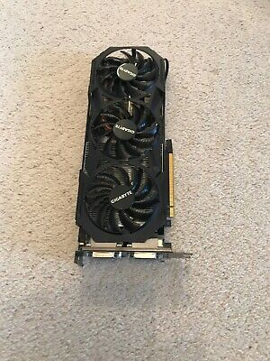 GIGABYTE WINDFORCE GTX980 Ti Graphics Card - Broken For Spares Or Repair