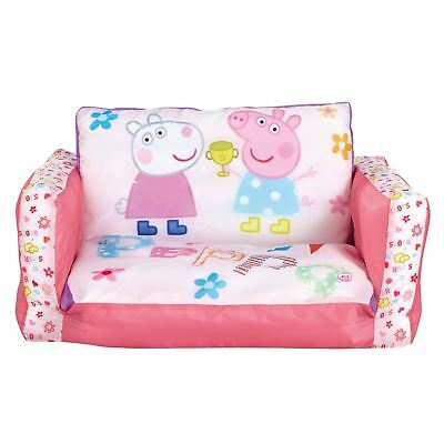 Peppa Pig Flip Out Mini Sofa Inflatable Kids Girls New 100% Official