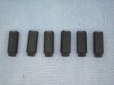 Quantity Of 6  Pcb Mounting Slotted Cap  20Mm  Fuse  Holders    250V @ 6.3A