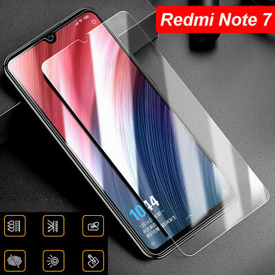 3 Tempered Glass Screen Protector Full Cover Film Supply For Xiaomi Redmi Note 7
