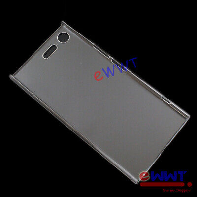 """for Sony Xperia XZ Premium 5.46"""" G8141 * Clear Crystal Plastic Hard Case ZVCF697"""
