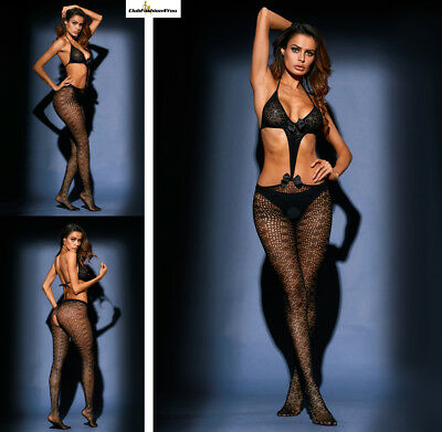 Hot Reizwäsche Fishnet Body Stocking Catsuit Netz Body Unterwäsche |H| 79975-2