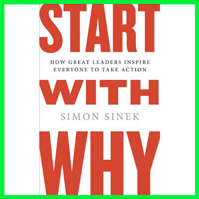 Start with why by Simon sinek (E-book) {PDF} ⚡Fast Delivery(10s)⚡