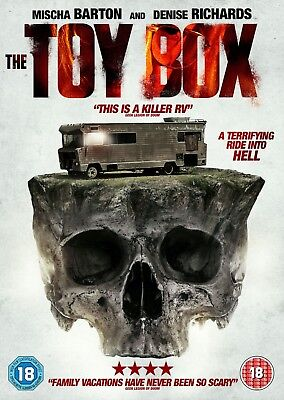 THE TOY BOX (DVD) (NEW) (RELEASED 22nd OCTOBER) (HORROR) (FREE POST)
