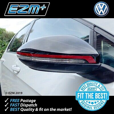 EZM VW Golf 7 MK7 MK7.5 R GTI GTD Wing Mirror Clubsport Style Stripe Stickers