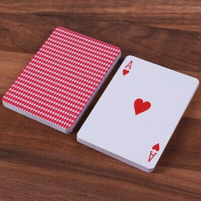2x PLASTIC COATED ORIGINAL PLAYING CARDS Classic Standard Deck Poker Bridge