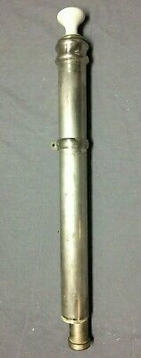 Antique Exposed Claw Foot Bathtub Standing Waste Tower Drain Vintage 224-19C