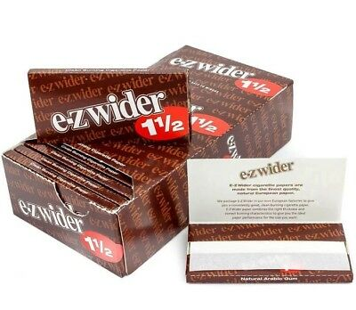 Ez Wider 1.5 ROLLING PAPERS-24 BOOKLETS   buy 10 get 1 free