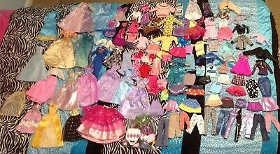 Huge Barbie doll clothes and accessories lot